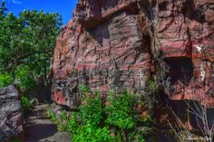 Pipestone National Monument in Pipestone, Minnesota...photo by Cyn...June 15' 2014