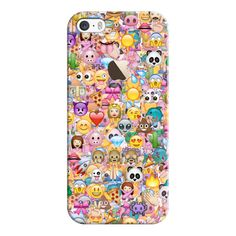 iPhone 6 Plus/6/5/5s/5c Case - Emoji (£23) ❤ liked on Polyvore featuring accessories, tech accessories, phone cases, iphone case, iphone cases, apple iphone cases and iphone cover case