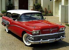 1958 Buick pillarless hardtop estate wagon
