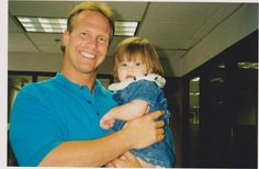 My little Angel & me at work years ago.