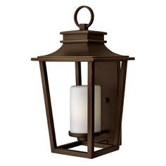 Hinkley Lighting Sullivan Oil Rubbed Bronze Outdoor Wall Light   1745OZ-GU24   Destination Lighting