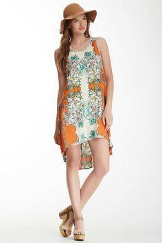 Scoop Neck Hi-Lo Dress by Angie on @HauteLook
