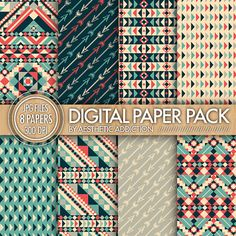 INSTANT DOWNLOAD  Tribal Aztec Patterns by aestheticaddiction  https://www.etsy.com/listing/167587719/instant-download-tribal-aztec-patterns?ref=shop_home_active_18
