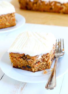 Entenmann's-Style Gluten Free Iced Carrot Cake—for Easter!