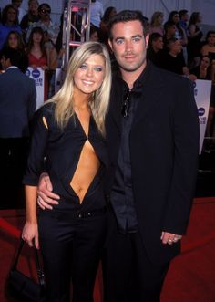 Pin for Later: Remember When These Celebrity Couples Went Public For the First Time? Tara Reid and Carson Daly in 2000