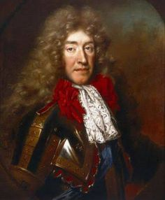 H.M. King James II, (later James Stuart) King of Great Britain, by Nicolas de Largilliere, 1695.