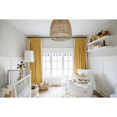Ideas baby nursery neutral ideas ottomans for 2019 Baby Bedroom, Baby Room Decor, Nursery Room, Girl Nursery, Kids Bedroom, Nursery Ideas, Baby Room Curtains, Room Baby, Kids Rooms