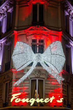 Fouquet's, Paris at Christmas-