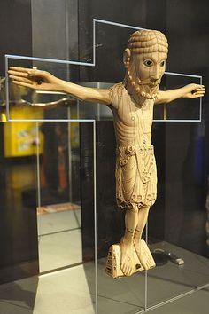 Crist de Carrizo.Peça de vori del s.XI. León