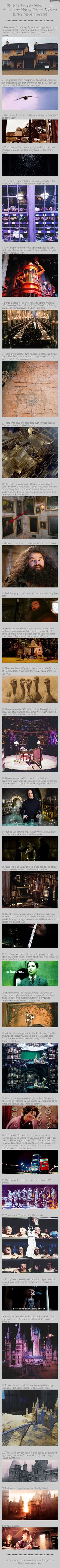 31 harry potter facts that makes the movie more magical
