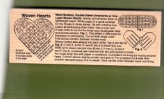 JD Impressions Mounted Rubber Stamp Roses & Vines Woven Heart N-473 1997 Unused