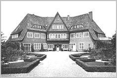 Hermann Muthesius, Haus Freundenberg, Berlin-Dahlen, 1920