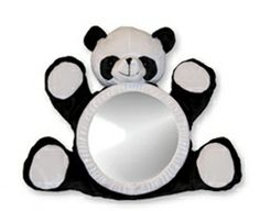 """""""See Me Smile Products, Inc Bearview Infant Mirror, Panda Bear"""" Baby Safety, Child Safety, Rear Facing Car Seat, Panda Nursery, Baby Mirror, Baby Gallery, Car Seat Accessories, Amazon Baby, Animal Fashion"""