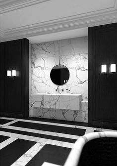 The bathroom Maharajah by Joseph Dirand for Louis Vuitton