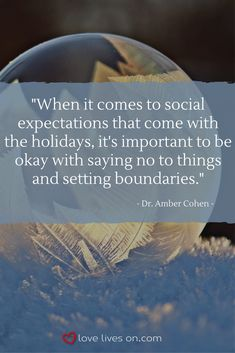 Coping With Grief During the Holidays | Tips for Managing Holiday Grief .Click to hear what grief therapist, Dr. Amber Cohen, has to say about balancing social expectation and self-care when grieving during the holidays.