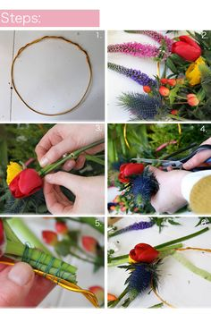 Lotts and Lots | Making the everyday beautiful: DIY - Real flower crown