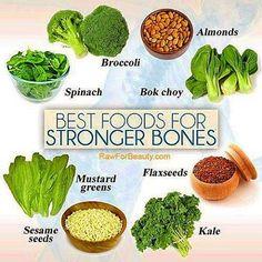 Best foods for stronger bones #plantbased #diet #health