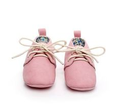 Littleoneshoes Soft Sole Leather Baby Infant Kids Girl Herringbone Shoes 0-6M