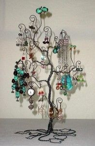 Jewelry Tree Display Stand Earring Necklace Bracelet Holder... | review | Kaboodle