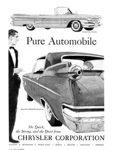 1960 Chrysler and Imperial ad.
