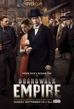 Boardwalk Empire  even with the crappy season 2 ender