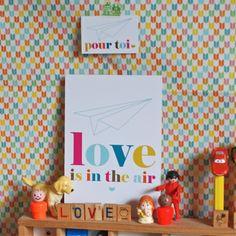 carte Love Studio Jolis mômes - deco-graphic.com
