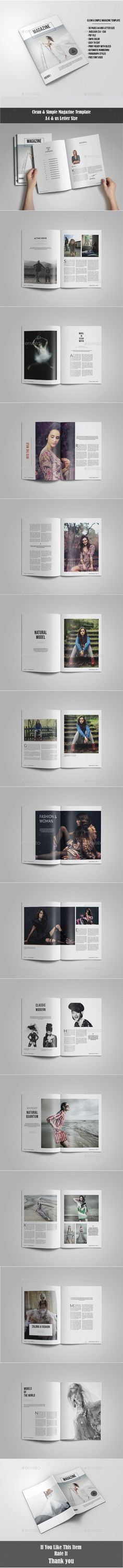 Professional Magazine A4 - 28 pages | Paragraph, Texts and Magazines