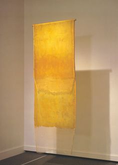Eva Hesse, Test piece for Contingent, Latex over cheesecloth, 1969