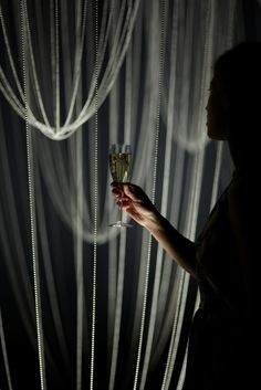 Lost Time by Glithero for Perrier-Jouët at Design Miami. Drink responsibly. #designmiami #art #champagne