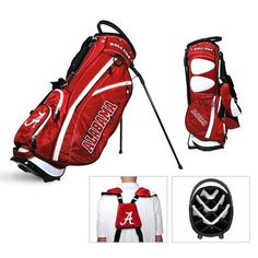 Alabama Fairway Stand Bag by Team Golf. Find your team @ ReadyGolf.com