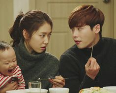 Pinocchio - Dal In with Baby ^_^ Parkshinhye - Leejongsuk Cr: yeHye Lee Jong Suk, Jung Suk, Lee Jung, Movie Couples, Cute Couples, Park Shin Hye Pinocchio, Romance, Kim Young Kwang, Young Male Model