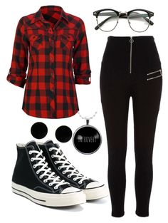 """""""Untitled #160"""" by paolaporoj on Polyvore featuring Full Tilt, River Island, Converse and MM6 Maison Margiela"""