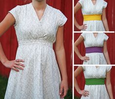 PDF PRINT-AT-HOME SEWING PATTERN       The original yellow maxi dress from a vintage sheet is now available to sew at home with the print...