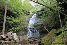 Native American Falls -- via Exploring NW Arkansas