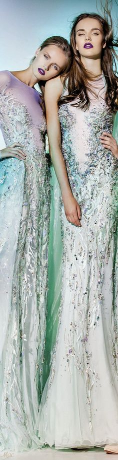 "Haute Couture - Blanka Matragi ""Elements: ""Aqua"", 2017 Collection"