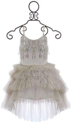 Tutu Du Monde Ice Queen Dress in Silver (Size 6/7)