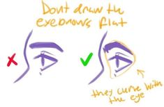 Amazing Learn To Draw Eyes Ideas. Astounding Learn To Draw Eyes Ideas. Drawing Techniques, Drawing Tips, Drawing Sketches, Drawing Faces, Drawing Eyebrows, How To Draw Eyebrows, Baby Drawing, Side Face Drawing, Drawing Ideas