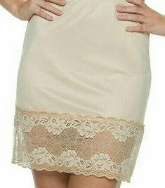 Satin Slip, Slip On, Slip Dresses, Ladies Slips, Vintage Lingerie, Beautiful Lingerie, Supermodels, Sexy, Lace Skirt