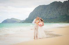 Intimate Oahu Wedding at Waimanalo Beach: Jay & Erica | Elusive Visions-Hawaii Wedding Photography | Hawaii Wedding Love