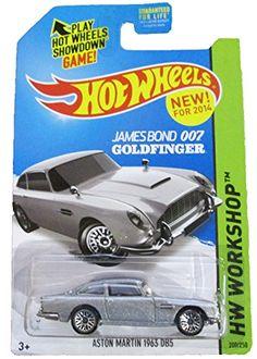 Hot Wheels - 2014 HW Workshop - HW All Stars 200/250 - James Bond 007 Goldfinger - Aston Martin 1963 DB5 Mattel http://www.amazon.com/dp/B00LI8Z0OO/ref=cm_sw_r_pi_dp_Qhbkub1GXW0BF
