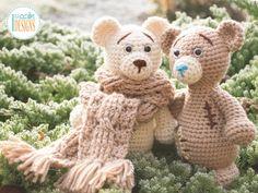 Crochet bears by Ira Rott