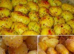 Pečené brambory se sezamem Cauliflower, Recipies, Potatoes, Cooking Recipes, Dinner, Vegetables, Breakfast, Chef Recipes, Food And Drinks