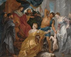 Peter Paul Rubens: The Judgement of Solomon - Statens Museum for Kunst