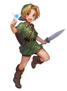 Young Link by https://twitter.com/mmimmzel/status/483231170985857025/photo/1