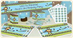 Monkey Boy - Birthday Party Theme