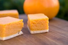These Pumpkin Cheesecake Bars are the perfect ending to your kidney-friendly Thanksgiving meal.