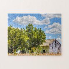 Rustic Barn Ohio. Jigsaw Puzzle - christmas idea gift idea diy unique special merry xmas family holidays