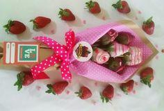 Resultado de imagen para fresas con chocolate decoradas