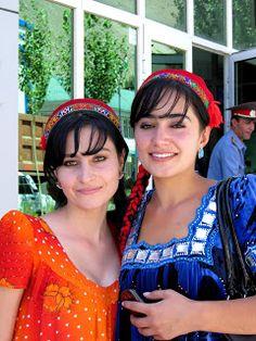 Pamiri Women in Tajikistan.