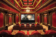 Outrageous Home Theater / Media Room